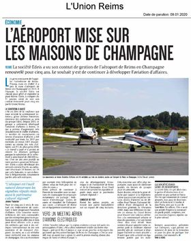 EDEIS en charge de la gestion de l'aéroport pour 5 années supplémentaires
